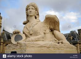 sphinx garden statue home design ideas and pictures