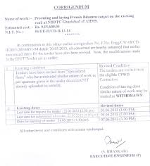 tender u0026 notices