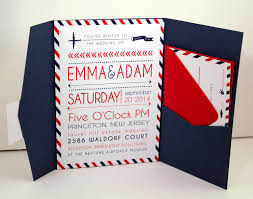 Red Wedding Invitation Cards Jaw Dropping Travel Themed Wedding Invitations Theruntime Com