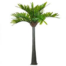 lighted palm trees 12 led palm tree green