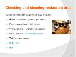 provide food and beverage services ppt download