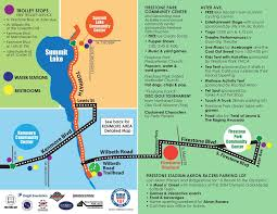 Ohio Stadium Map by Open Streets Akron Offers Free Outdoor Fun In Kenmore Summit Lake