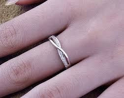 promise ring engagement ring and wedding ring set platinum wedding ring infinity ring wedding couples rings his