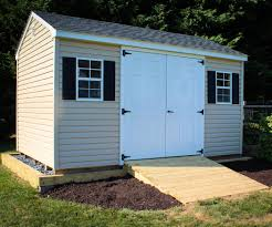 shed ramp amish community garden equipment and lawn