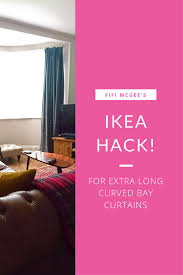 Ikea Pink Curtains Fifi Mcgee Need Extra Long Curtains Here U0027s My Ikea Hack