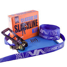 amazon com bya classic line 50ft or 85ft beginner slackline