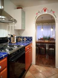 attractive southwest kitchen decor with southwestern style homes