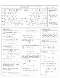 cdi i diversos theoretical cheat sheet