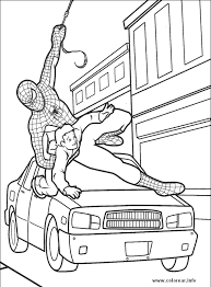 spiderman 10 spiderman printable coloring pages kids