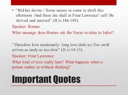 wedding quotes romeo and juliet romeo and juliet act ii ppt online