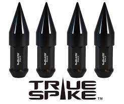 Ford F350 Truck Caps - spike lug nuts tagged