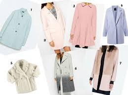 pastel winter coats c est yoli
