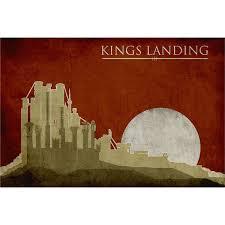 game of thrones movie poster kings landing 16