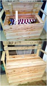 Wooden Pallet Bench Creative Ideas With Used Shipping Wood Pallets Pallet Ideas