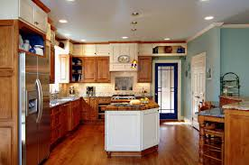 kitchens with different colored cabinets kitchen artistic color decor fantastical and different styles of