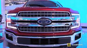 2018 ford f150 lariat exterior and interior walkaround debut