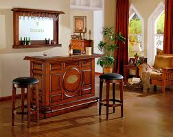 guinness bar with etched logo mirror by e c i furniture wolf