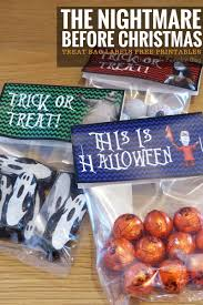 free printable halloween treat bag labels treat bag labels the nightmare before christmas