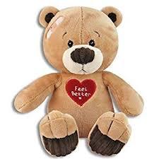 feel better bears soft cuddly 10 inch feel better plush teddy