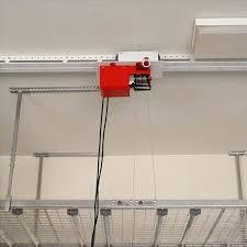 garage storage lift systems motorized lift system 4 track