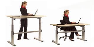 hauteur de bureau de travail l ergonomie au travail des bureaux pour varier vos