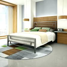 high rise bed frame king platform full malm with storage
