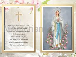 religious memorial cards memoriam cards
