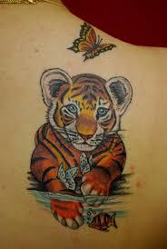 small tiger tattoos