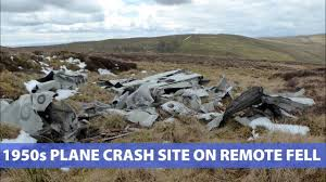 see the little known site of a 1950s cold war plane crash on