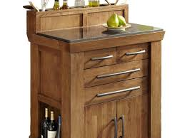 Wheeled Kitchen Islands Kitchen Island 11 Unfinished Wood Low Height Portable Kitchen