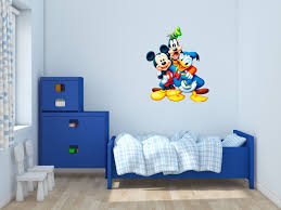 wall decals stickers home decor home furniture diy mickey mouse and friends disney wall decals vinyl sticker for room home bedroom