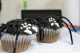 Halloween Spider Cakes by Every Flavour Sweets Halloween Spider Cupcakes