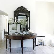 Half Moon Accent Table Half Moon Console Table Design Ideas