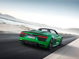 audi supercar the new audi r8 v10 plus spyder has arrived business insider
