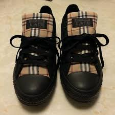s burberry boots sale custom chuck s burberry sneaker headz only