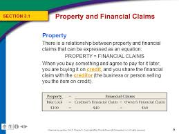 6 property and financial claims