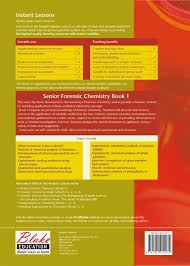 Applications Of Colorimetry In Analytical Chemistry Senior Forensic Chemistry Book 1 Education Educational