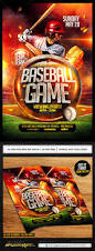 12 baseball flyer template psd images baseball flyer template