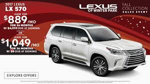 lexus lx price usa 2017 lexus lx lease special in orlando lexus of winter park