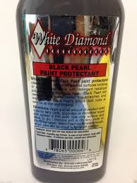 white diamond black pearl paint protection cleans polishes and