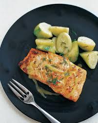 Salmon With Dill Mustard Sauce by Mustard Glazed Salmon