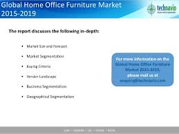 Global Office Chairs Global Home Office Furniture Market 2015 2019