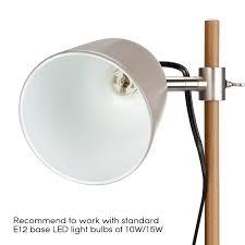 Studio Desk Lamp Stylish Metal Desk Lamps Ul Listed Cable Cord E12 Bulb Socket