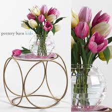 pottery barn kids flower table 3d models table pottery barn kids marble top side table bouquet