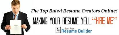Professional Resume Builder Online by Best Free Resume Builder Online Top Rated Creator Of Easy Resumes Now