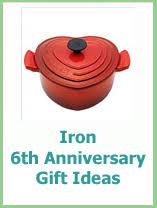 iron wedding anniversary gifts 6th wedding anniversary gift ideas for him wedding definition ideas