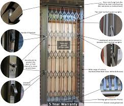 expandable security products all in one trellis and burglar bars