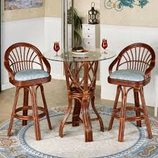leikela malibu seaside tropical bistro furniture set