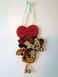 retired vintage grolier mickey on disney ornament