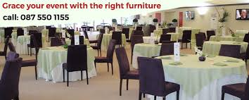 Table And Chair Hire For Weddings Furniture U0026 Event Hire Services Cape Town T 087 550 1155